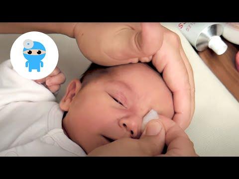 csecsemők tisztítása élő parazitákat evett