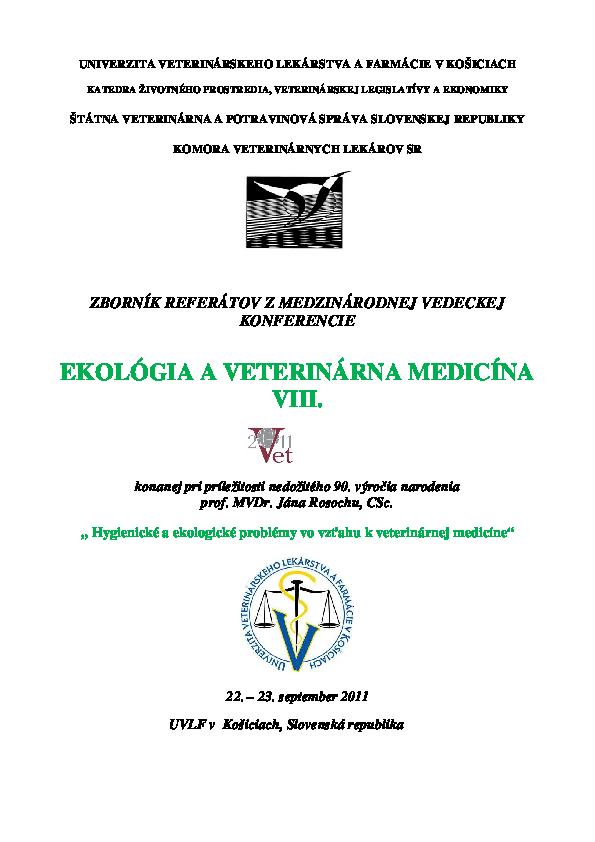 helminthiasis epizootológia