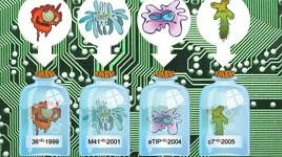 virusok fergek kemprogramok